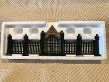 Department 56 Village Wrought Iron Gate And Fence