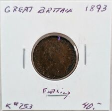 1893 Great Britain Farthing