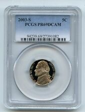 2003 S 5C Jefferson Nickel PCGS PR69DCAM