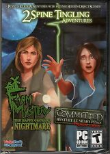FARM MYSTERY: THE HAPPY ORCHARD NIGHTMARE + COMMITTED Hidden Object PC Game NEW