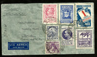 BRAZIL to SWITZERLAND - LATI 1941 cover w/good postage