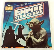 Star Wars The Empire Strikes Back 24 Page Read-Along Book and 33 1/3 Record