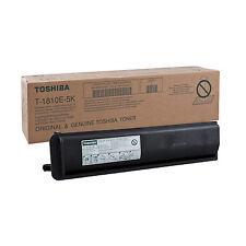 ORIGINALE TONER TOSHIBA T-1810E-5K BK NERO PER Toshiba E-Studio 181 182 182i 211