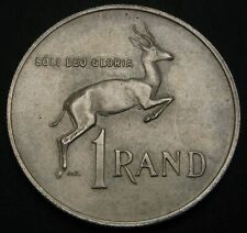 SOUTH AFRICA 1 Rand 1967 - Silver - Death of Dr. Verwoerd - XF- - 3669