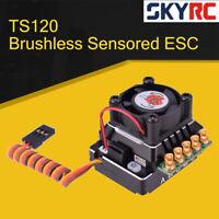 SKYRC TORO TS120 Aluminum Brushless Sensored ESC For 1/10 /1/12 RC Car Black