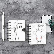 Portable Cute Cartoon Kraft Paper Notepad Memo Diary Notebook Exercise Book New