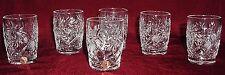 6 Russian Crystal Shotglasses Glasses. 1.7oz (50 ml). 4319 New #3