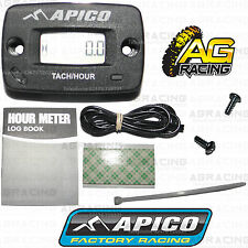 Apico Hour Meter Tachmeter Tach RPM Without Bracket For Honda CRF 250R 2004-2016