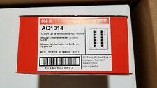 On-Q/Legrand 12-Port Cat5e Network Interface Module (Ac1014)