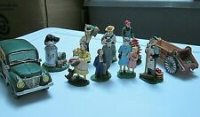 10 Midwest of Cannon Falls Cannon Valley miniature figures lot Farm truck people