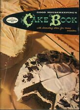 Good Housekeeping Cake Book 1958 Decorating Tips Quick Mix Cupcakes Fillings
