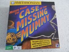 The Case Of The Missing Mummy Mission Museum Smithsonian Board Game