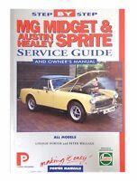Step By Step Mg Midget & Austin Healey Sprite Service Guide  HWM006