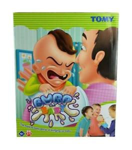 Tomy 72736 Burp The Baby Kids Toy that Squirts Water preschool Game 4y+