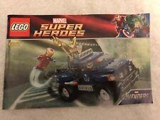 6867 Lego NEW Instruction MANUAL ONLY Marvel Avengers Super Heroes Loki's Escape
