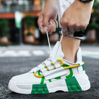 Mens Casual Sneakers Sports Fashion Breathable Walking Shoes Outdoor All-match