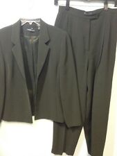 Valorie By Valerie Stevens Size 6 Dark Green Pants Jacket Suit Size 8 P Pants