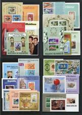 Maldives Miniature Sheets MNH x 26 items