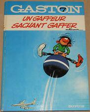 GASTON LAGAFFE -7- / Un Gaffeur sachant gaffer / 1973 / BE