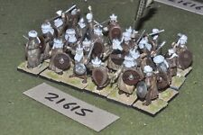 25mm medieval / spanish - 24 moorish swordsmen - inf (21615)