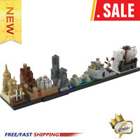 MOC-18016 Game Of Thrones-Westeros Skyline Architecture Building Blocks Toys