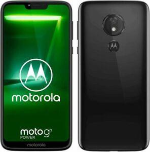 Refurbished New Motorola Moto G7 Play Smartphone 32GB /Black LTE 2G RAM