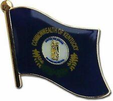 State of Kentucky KY Flag Bike Motorcycle Hat Cap lapel Pin