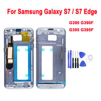 Middle Frame Bezel Chassis Housing Inner Mid Plate For Samsung Galaxy S7 S7 Edge