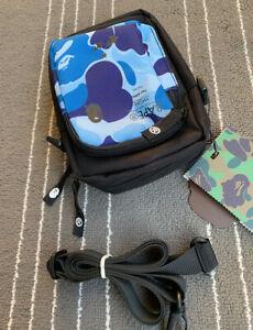 2021 Bape Men's and Women's Camouflage Waist Bag Small Shoulder Bag Reversible