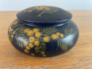 Vallauris glazed pot