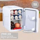 15L Mini Fridge Portable Refrigerator Cooler Home Office 12V Small Car Freezer photo
