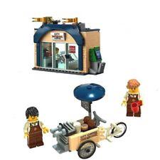 LEGO Coffee Shop & Coffee Cargo Bike Split From Lego City Set 60233 New No Box