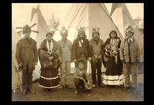 1904 GERONIMO St Louis Worlds Fair PHOTO Group, Apache Indian Boy Chief
