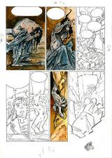RARE  LORNA - Alfonso AZPIRI's original artwork - COLOUR