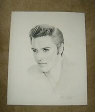 "ELVIS POSTER Gary Saderup Lithograph, 20"" x 24"""