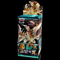 Pokemon Game TCG Sun Moon SM6 Forbidden Light 30 Booster Packs 150 Cards Korean
