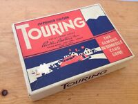 Vintage Antique 1940s Touring Parker Brothers Playing Cards Car Card Game w Box