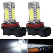 2x H11 LED Fog Driving Head Light For Holden Commodore VT VX VY VZ VE - White