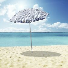 Outdoor Beach Umbrella Aztec 1.8m Sun Shade w/Carry Bag Tilt Pool Home Garden AU