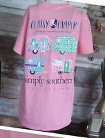 Southern Couture Classic Preppy Seersucker Who Dat Fleur De Lis T-Shirt