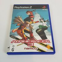 ALPINE RACER 3 PS2 Playstation 2 Video Game PAL - Complete
