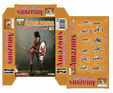 "LINEAR-A 1/72 NEW 021 Amazons ""Daughter's of Ares"" - 48 FIGURES - SOLDATINI"