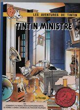 PASTICHE TINTIN - Tintin Ministre. Cartonné 64 pages couleurs. Ed. Le Passage