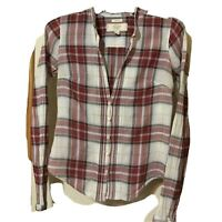Women's Size Small Abercombie and Fitch Button Up Shirt Long Sleeve Blouse