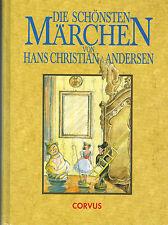 Hans Christian Andersen, dirá más bello cuento de hadas, libro de cuentos en color. ill. 1991