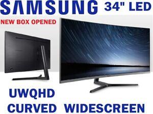 "SAMSUNG UWQHD  34"" ULTRA WIDE CURVED LED MONITOR C34H890 USB-C 100Hz"