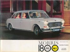 Morris 1800 Mk II & S 1968-70 Original UK Sales Brochure Pub. No. 2513/D