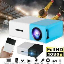 1080P FHD Projektor Videoprojektor Beamer Heimkino Mini Projektor Handybeamer DE