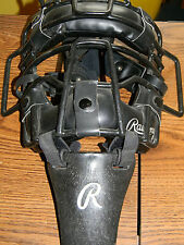 Rawlings Catchers Mask- Black With Throat Shield