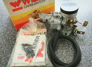 Weber 34 ICH Carb, Re-jeted for Land Rover Series One 1600 engine